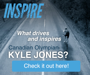Inspire. What drives and inspires Canadian Olympian Kyle Jones? Check it out here!